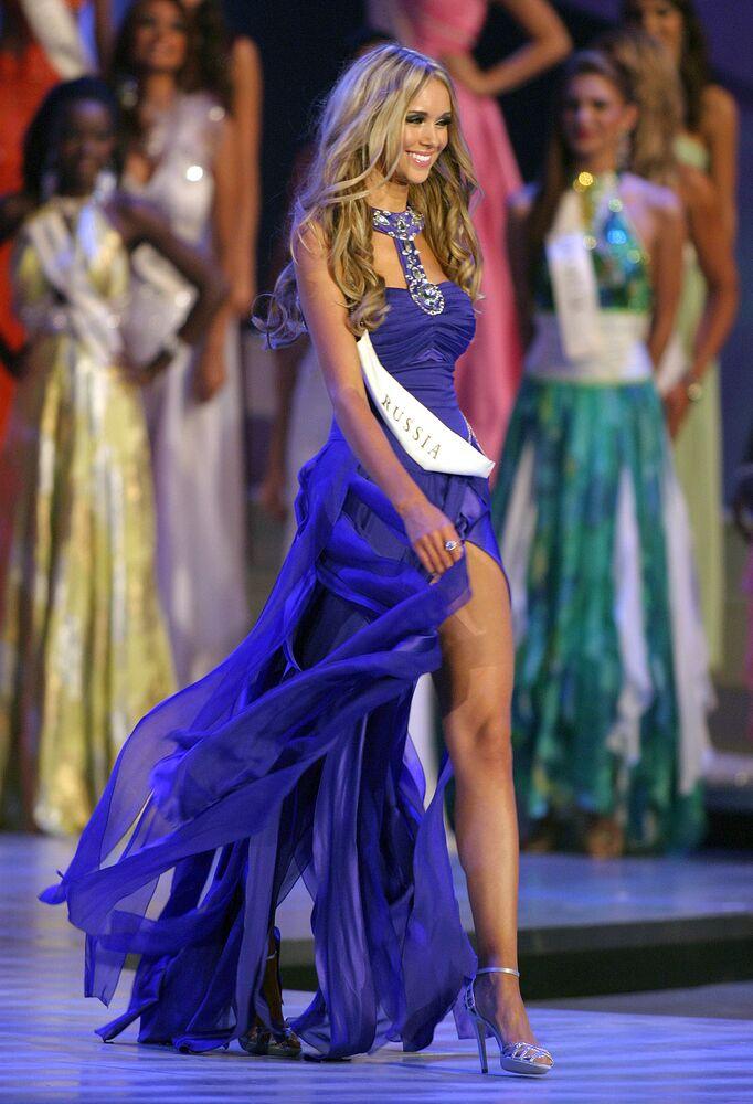 Miss World - 2008 Ksenija Suchorukowa z Rosji