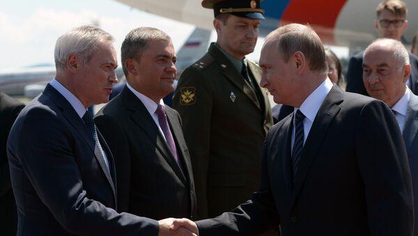 Prezydent Rosji Władimir Putin z wizytą w Słowenii - Sputnik Polska