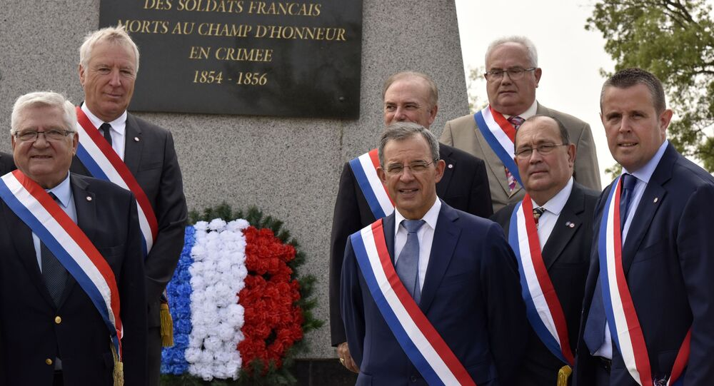 Francuska delegacja w Sewastopolu