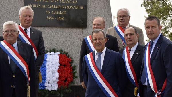 Francuska delegacja w Sewastopolu - Sputnik Polska