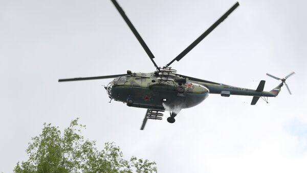 Mi-8 helicopter. (File) - Sputnik Polska