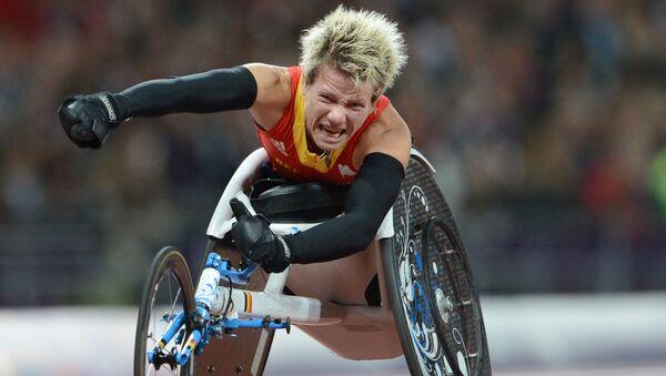 Mistrzyni Igrzysk Paraolimpijskich 2012 Marieke Vervoort - Sputnik Polska