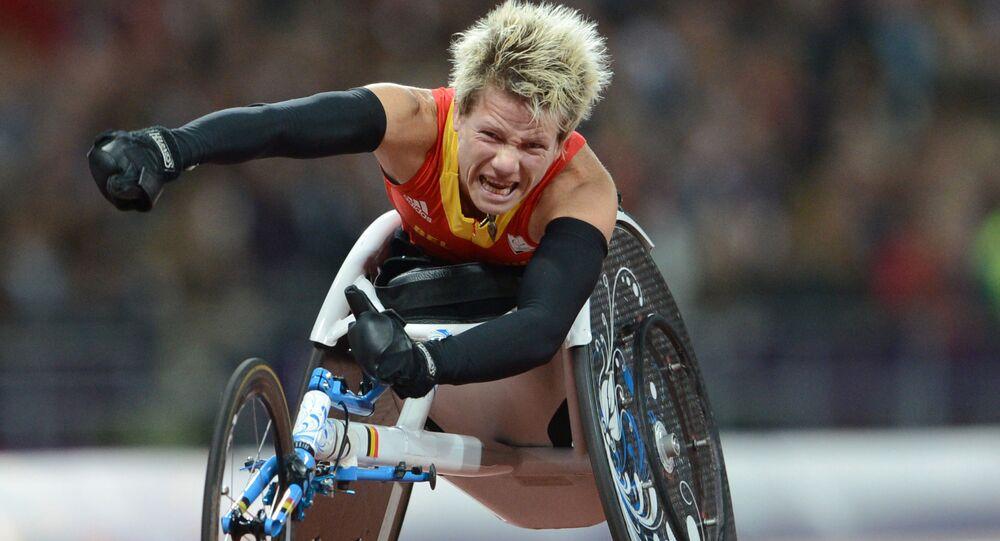 Mistrzyni Igrzysk Paraolimpijskich 2012 Marieke Vervoort