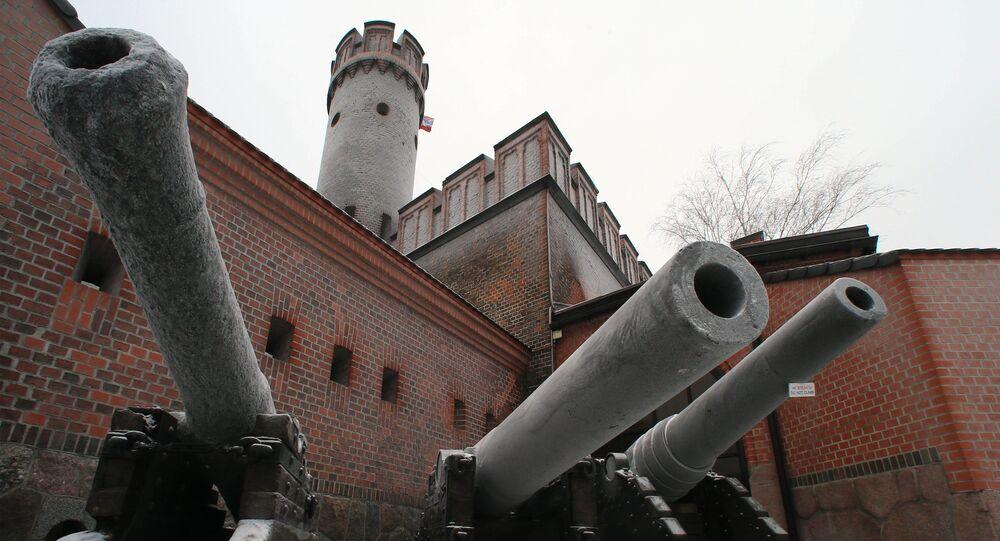 Kaliningrad. Fort Friedrichsburg.