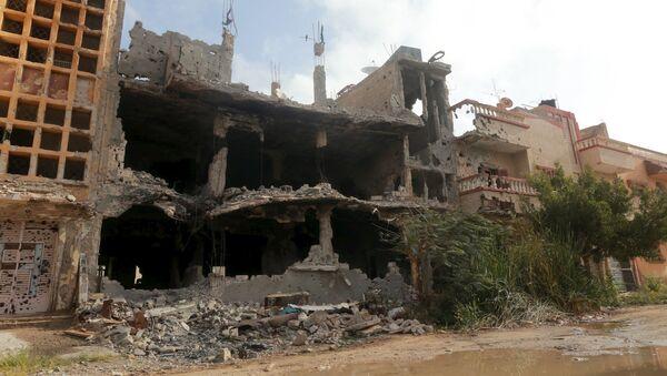 Miasto Bengazi, Libia - Sputnik Polska