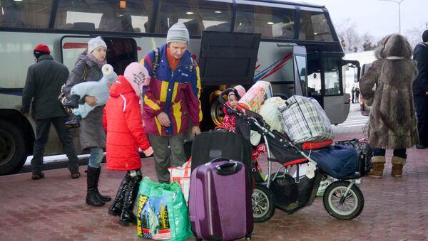 Uchodźcy z Ukrainy - Sputnik Polska