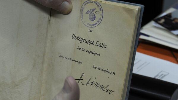 Książka Krótka klasyfikacja rasowa narodu niemieckiego z autografem Himmlera - Sputnik Polska