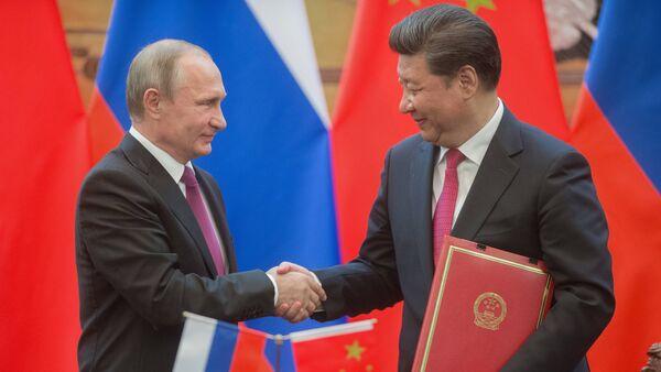Wizyta dyplomatyczna Władimira Putina w Chinach - Sputnik Polska