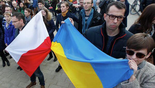 Demonstracja w Warszawie, 2014 rok - Sputnik Polska