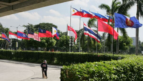 Flagi państw członkowskich ASEAN - Sputnik Polska