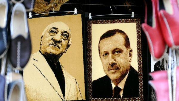 Zdjęcie Erdogana i Gulena - Sputnik Polska