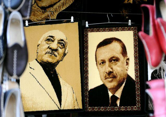 Zdjęcie Erdogana i Gulena