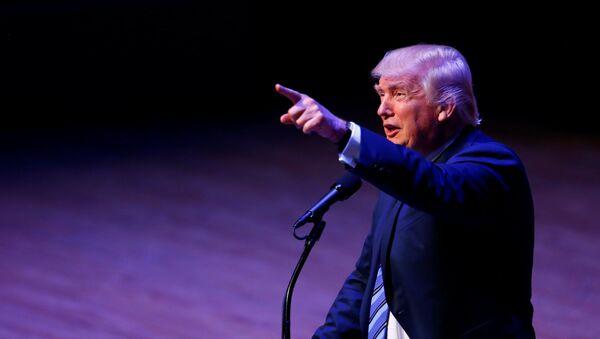 Republikański kandydat na prezydent USA Donald Trump - Sputnik Polska
