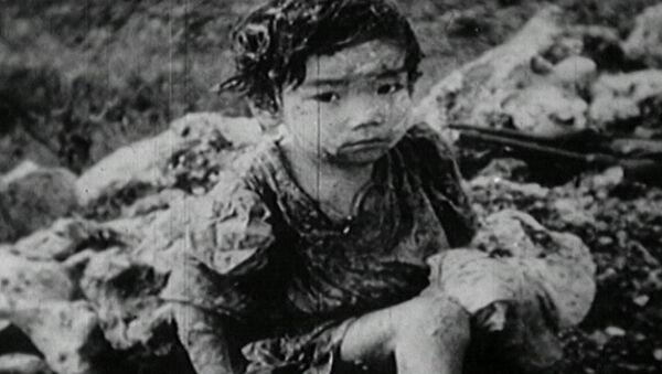 Atak atomowy na Hiroshimę - Sputnik Polska