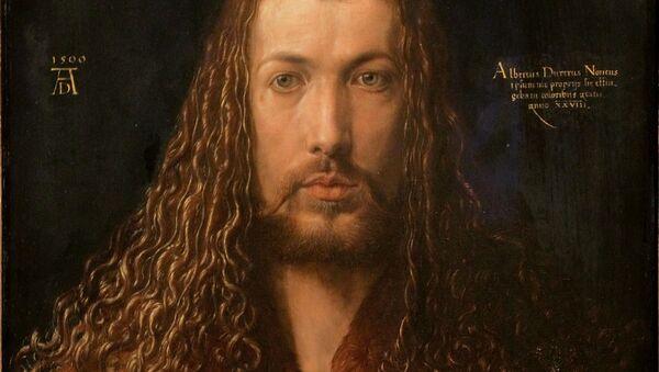 Albrecht Dürer, autoportret - Sputnik Polska
