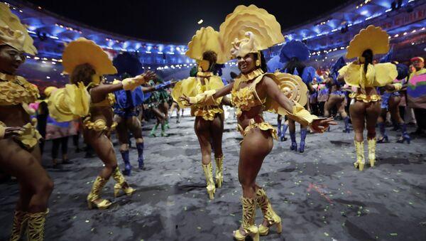 Ceremonia otwarcia  Igrzysk Olimpijskich 2016 w Rio de Janeiro - Sputnik Polska