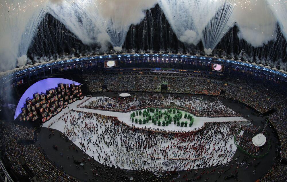 Ceremonia otwarcia  Igrzysk Olimpijskich 2016 w Rio de Janeiro