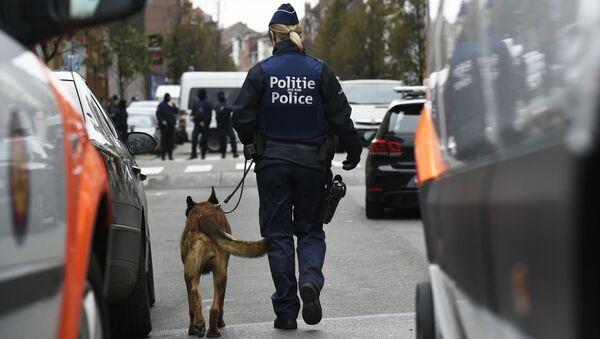 Policja w Belgii - Sputnik Polska