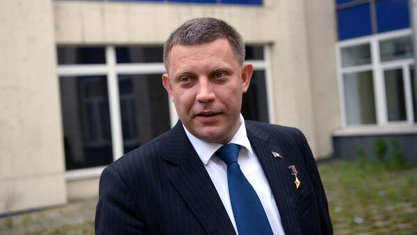Szef DRL Aleksander Zacharczenko - Sputnik Polska