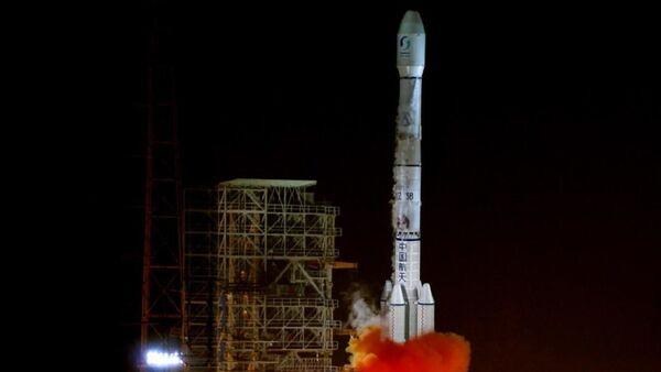 Start rakiety nośnej Chanzheng-3B w Chinach - Sputnik Polska