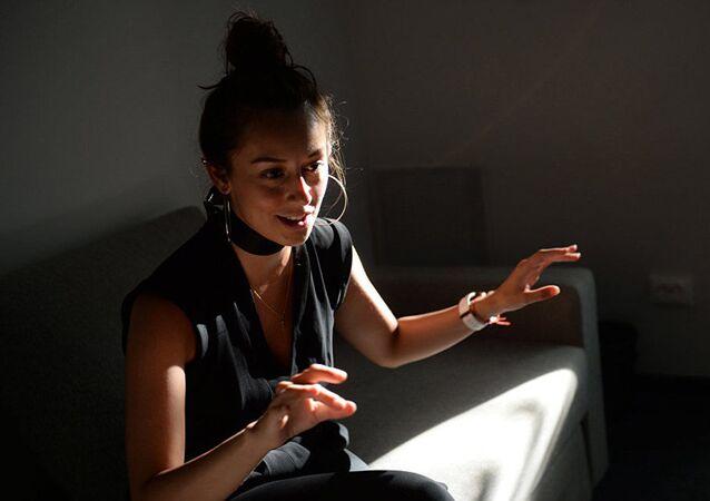 Kolumbijska artystka Paola Landazabal w Rosji