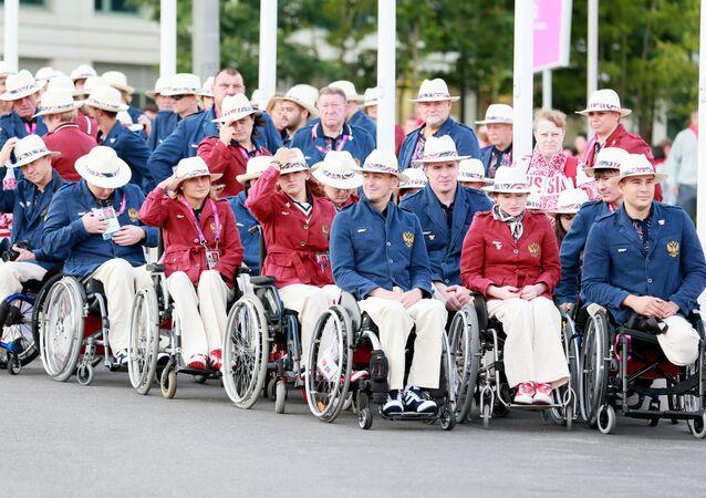 Rosyjska reprezentacja paraolimpijska w Londynie