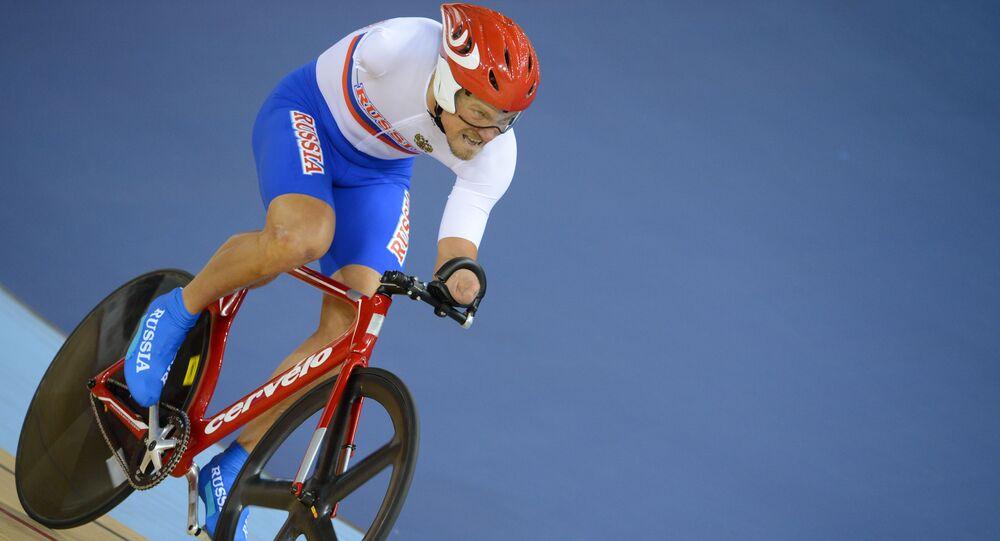 Rosyjski kolarz Aleksiej Obydennow