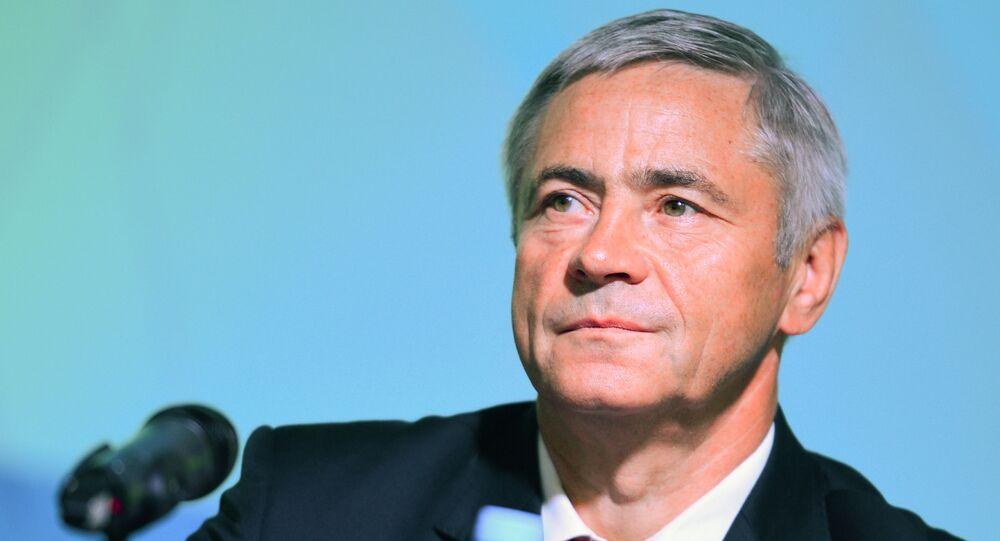 Szef Komitetu Wykonawczego, wiceprezes Paraolimpijskiego Komitetu Rosji Paweł Rożkow