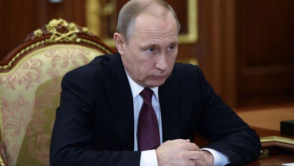 Władimir Putin na Kremlu - Sputnik Polska