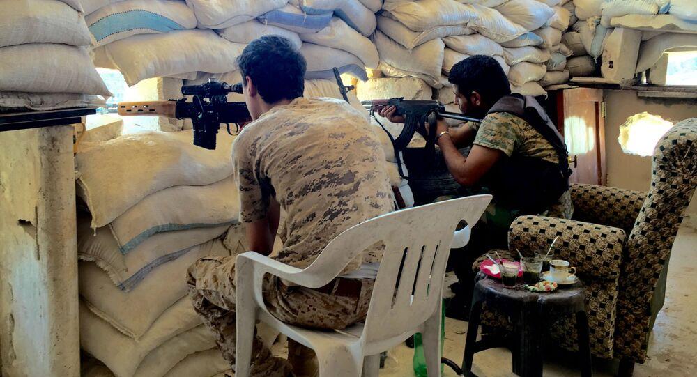 Konflikt zbrojny w Syrii. Aleppo