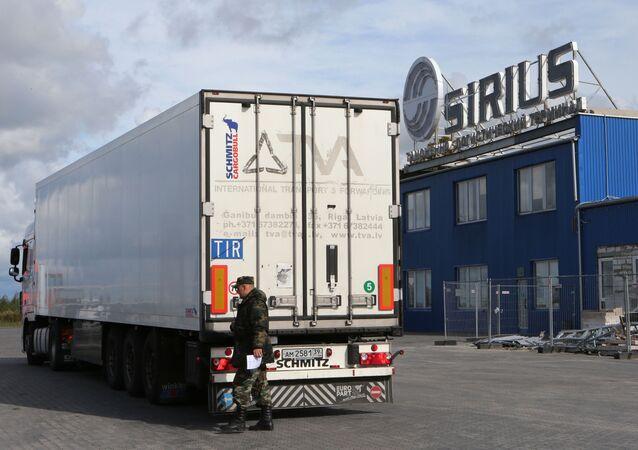 Terminal celny Sirius na polsko-rosyjskiej granicy