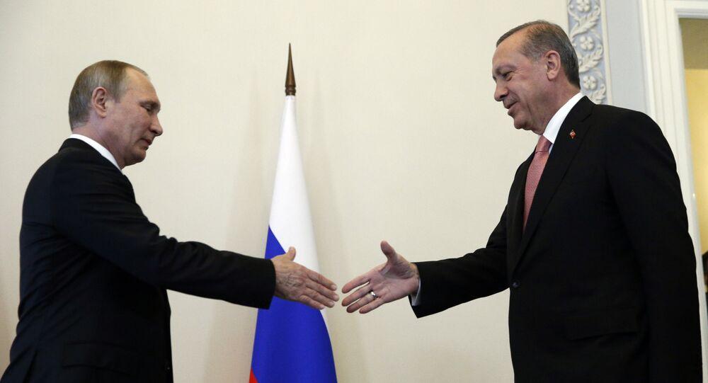 Spotkanie prezydentów Rosji i Turcji w Petersburgu, 9 sierpnia 2016