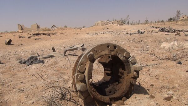 Wojna w Syrii, wschodnia część prowincji Hama. - Sputnik Polska