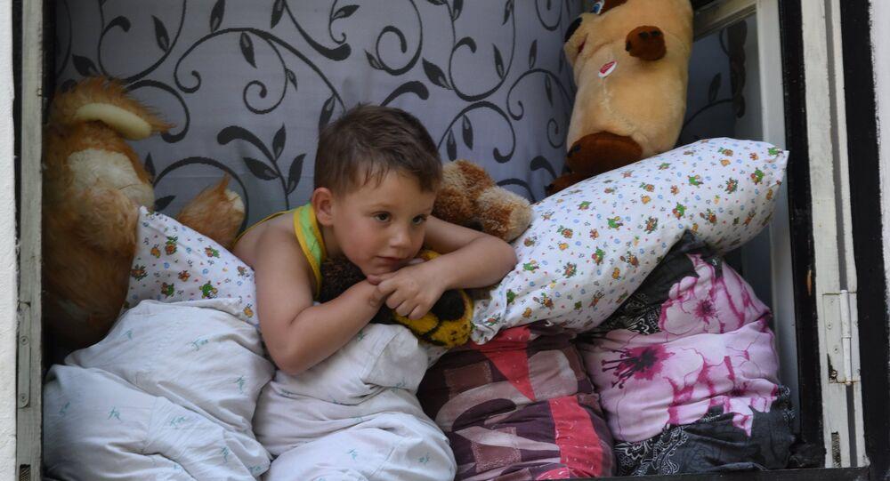 Dziecko. Białoruś.