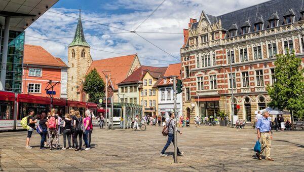 Erfurt, Niemcy - Sputnik Polska