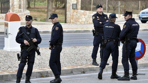 Hiszpańska policja - Sputnik Polska