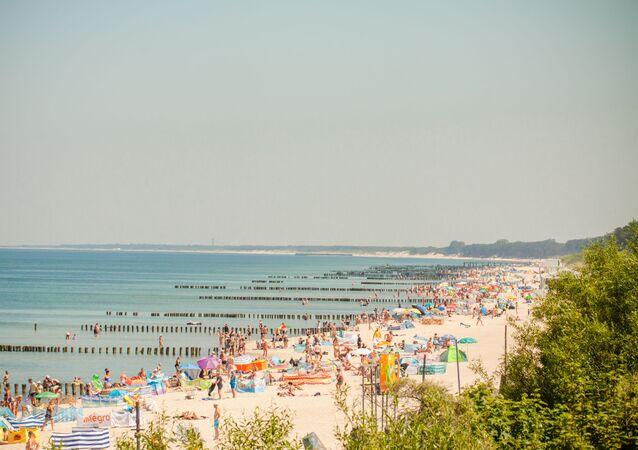 Plaża w Mielnie