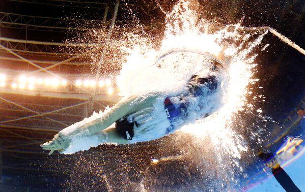 Amerykańska pływczka Katie Ledecky na Olimpiadzie 2016 w Rio de Janeiro - Sputnik Polska