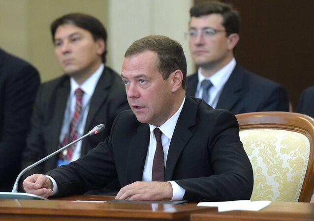 Dmitrij Miedwiediew.