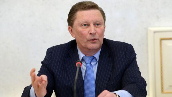 Były szef administracji rosyjskiego prezydenta Siergiej Iwanow - Sputnik Polska