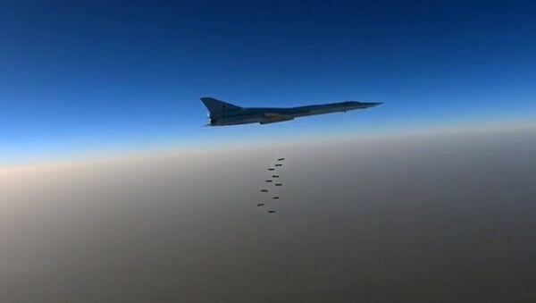 Rosyjskie bombowce dalekiego zasięgu Tu-22 M3. - Sputnik Polska