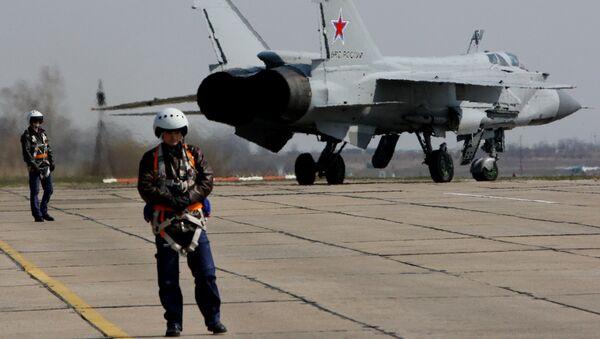 MiG-31 – naddźwiękowy ciężki myśliwiec przechwytujący, który został pierwszym radzieckim samolotem bojowym czwartej generacji. - Sputnik Polska