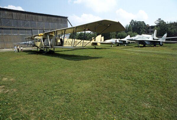 Ilja Muromiec G-II (G-36) - ciężki, wielosilnikowy samolot bombowy. Pierwsza tego typu konstrukcja w dziejach lotnictwa budowana seryjnie. - Sputnik Polska