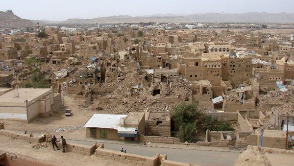 Sada, miasto w północnym Jemenie - Sputnik Polska