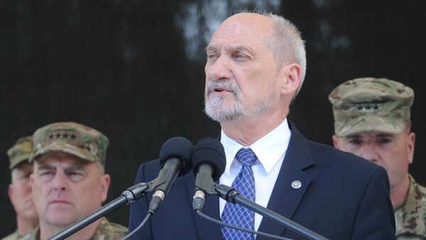 Minister obrony RP Antoni Macierewicz - Sputnik Polska