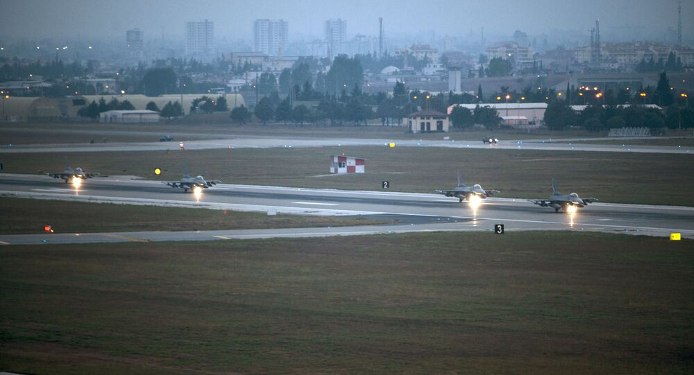 Amerykańska baza lotnicza Incirlik w Turcji