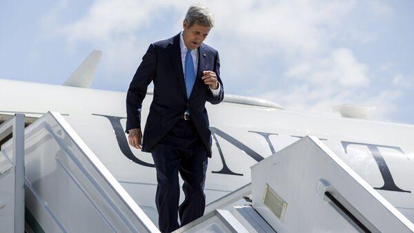 John Kerry w Soczi - Sputnik Polska