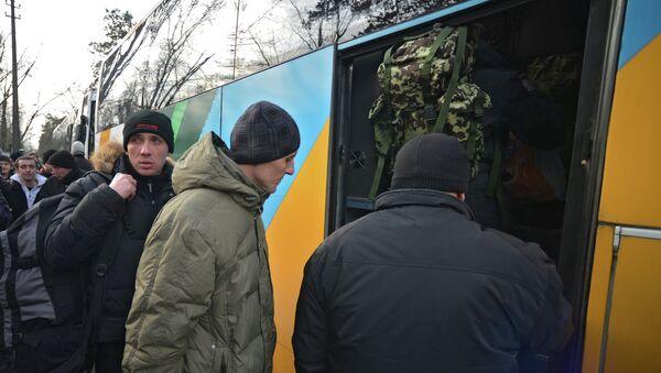 Mobilizacja do ukraińskiej armii - Sputnik Polska