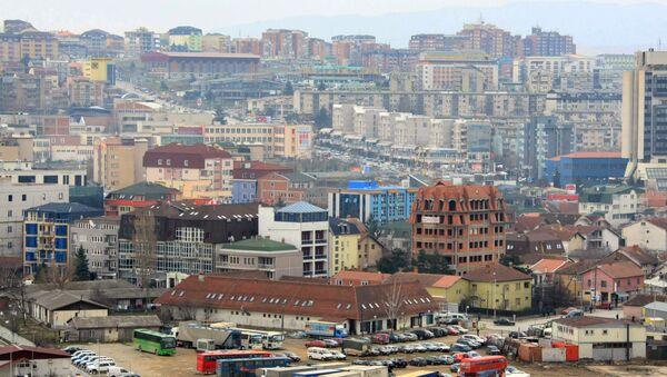 Panorama Prisztiny - stolicy Kosowa - Sputnik Polska