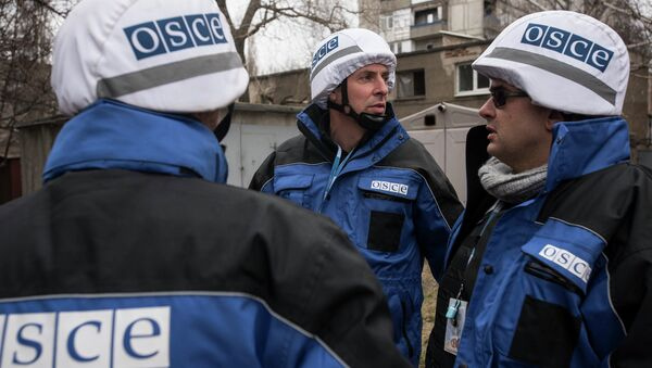Misja monitoringowa OBWE na Ukrainie - Sputnik Polska